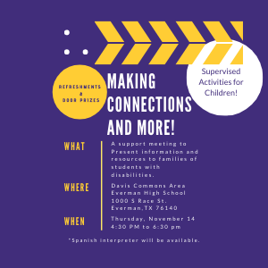 Parent Connections Night